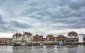 Old Harbour In Kerteminde, Denmark