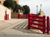 Running Of The Bulls Fences