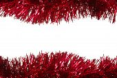 Enfeites de Natal como uma fronteira
