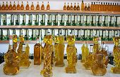 BALIKES?R-OCTOBER 9:Olive oils in organic products shop