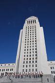 Los Angeles City Hall Building-Vertical