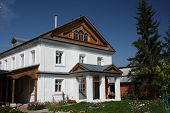 Republik Tschuwaschien, Ziwilsk. Gottesmutter von Tichwin-Kloster. Ausschlusswirkung Gehäuse.