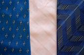 Three Cravat Tie Scarfs Texture Pattern Background