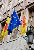 Flags Of Wallonia Region