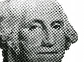George Washington Black And White