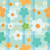 vector seamless pattern for baby