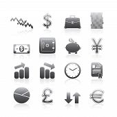Business Icons Silhouette Series