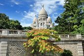 image of sacred heart jesus  - The basilica Sacre Coeur  - JPG