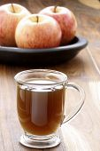 hot fresh applecider