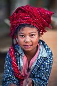 Pa-O tribe girl
