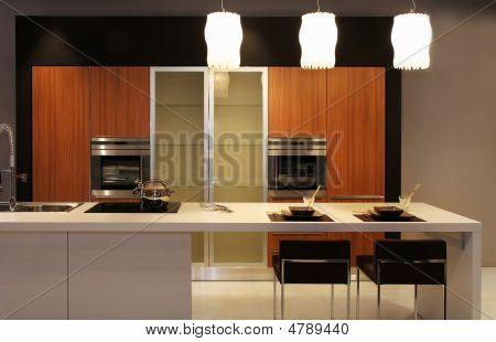 Постер, плакат: Кухня, холст на подрамнике