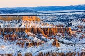 Bryce-Canyon-Nationalpark im Winter, Utah, USA