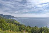 Coastal Scene On The Cabot Trail In Nova Scotia