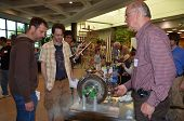 Demonstration Of Ancient Steam Turbine At Ann Arbor Mini Maker Faire
