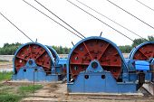 Industrial Stage Winch For Shaft Sinking In Macheng Iron Mine, China
