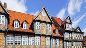 Altes Fachwerk-Haus in Wolfenbuttel.