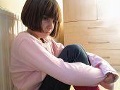 Kind suchen deprimiert