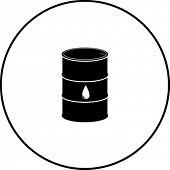 oil barrel symbol