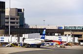 Logan International Airport in Boston