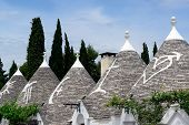 Trulli house roofs