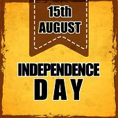 Vintage background for Indian Independence Day background.