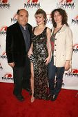 Irwin Keyes with Rena Riffel and Bonnie Aarons at the Los Angeles Premiere of 'Dark Reel'. Queen Mary, Long Beach, CA. 03-15-09