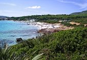 Bombard beach