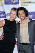 Jamie Lee Curtis and Corbin Bleu at the Starlight Children's Foundation's 'A Stellar Night' Gala. Beverly Hilton Hotel, Beverly Hills, CA. 03-27-09