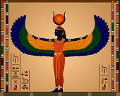 picture of hieroglyphs  - Religion of Ancient Egypt - JPG