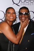 Queen Latifah and father Lance Owens at Queen Latifah's Birthday Party presented by Cover Girl Queen