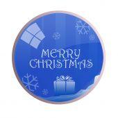 Glossy Merry Christmas Balls