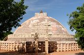 Ancient Buddhist Stupas In Sanchi