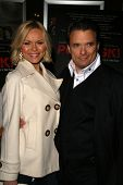 Anya Monzikova and Damian Chapa  at the Charity Screening of 'Polanski Unauthorized' to Benefit the Children's Defense League. Laemmle Sunset 5 Cinemas, West Hollywood, CA. 02-10-09