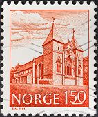Cathedral In Stavanger, Norway