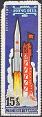 Launch Of Carrier Rocket Vostok L
