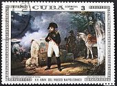 Napoleon With War Landscape Background