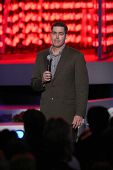 Adam Carolla   at the Debut of L.A. Live's 'Light of Angels'. L.A. Live, Los Angeles, CA. 12-04-08