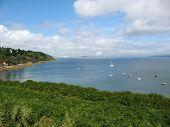 Pointe Des Espagnols And Sea Coast In Brittany