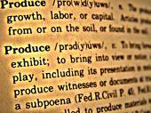 Dictionary Produce