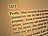 Dictionary Profit