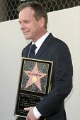 Kiefer Sutherland   at the Ceremony Honoring Kiefer Sutherland with the 2,377th Star on the Hollywood Walk of Fame. Hollywood Boulevard, Hollywood, CA. 12-09-08