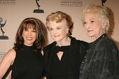 Kate Linder with Angela Lansbury and Bea Arthur   at the Academy of Television Arts & Sciences Hall