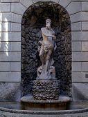 Statue Of Neptune - Palazzo Thun In Trento