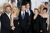 L-R Sam Mendes, Kate Winslet, Leonardo DiCaprio, Michael Shannon, Kathy Bates and Kathryn Hahn   at