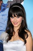 Zooey Deschanel   at the Los Angeles Premiere of 'Yes Man'. Mann VIllage Theater, Westwood, CA. 12-1