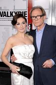 Carice van Houten and Bill Nighy   at the Los Angeles Premiere of 'Valkyrie'. The Directors Guild of America, Los Angeles, CA. 12-18-08