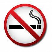 Sign No Smoking 2D