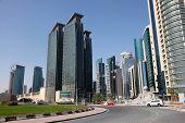 Street In Doha, Qatar