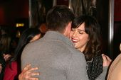 Jensen Ackles and Jessica Alba  at the Los Angeles Special Screening of 'My Bloody Valentine 3D'. Ma