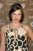 Milla Jovovich  at the 2nd Annual Art of Elysium Black Tie Charity Gala 'Heaven'. The Vibiana, Los Angeles, CA. 01-10-09